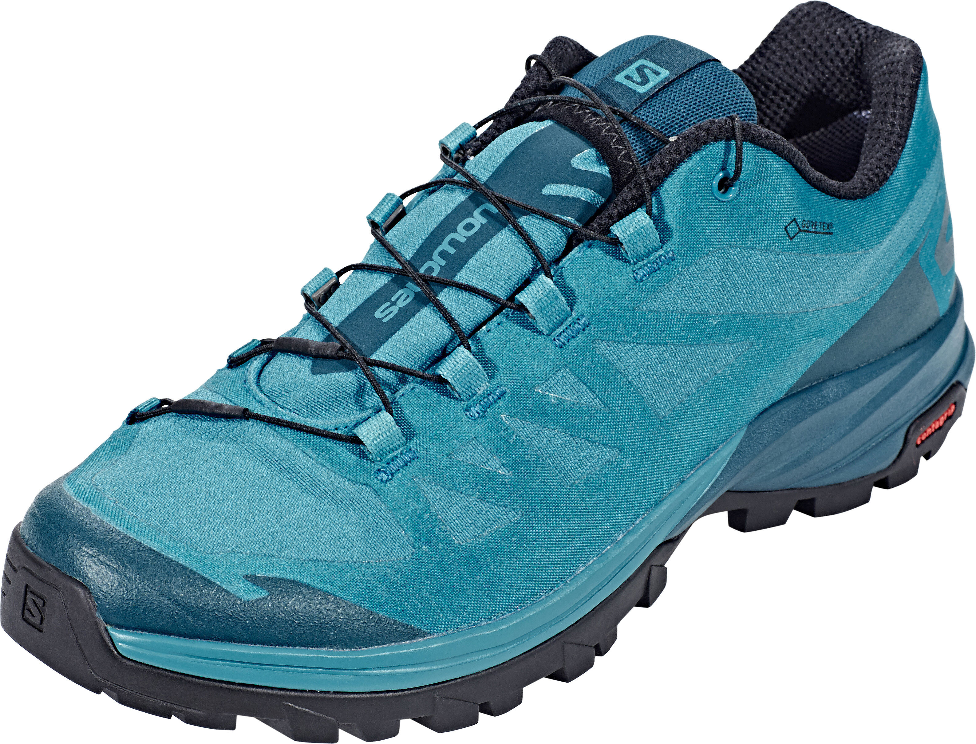 02033c846bf Salomon Outpath GTX Sko Damer turkis   Find outdoortøj, sko & udstyr ...